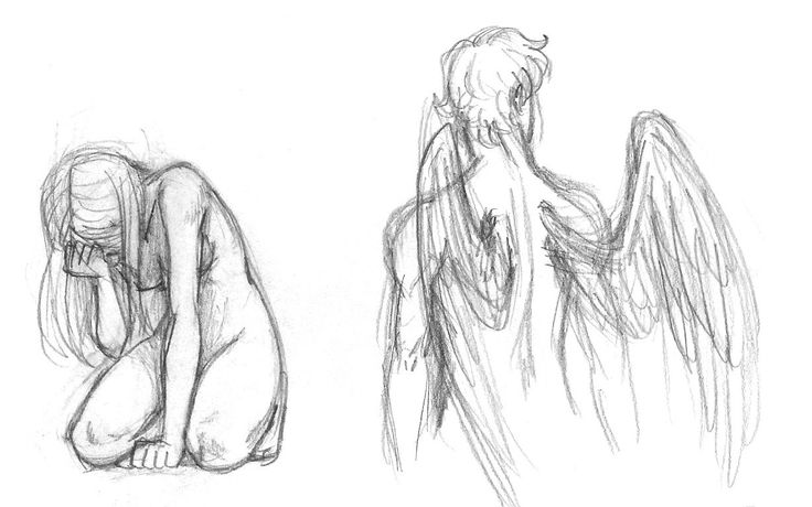 Sketches-Eros and Psyche by queenbean3 on DeviantArt