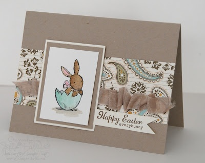 I love the colors for the Everybunny card