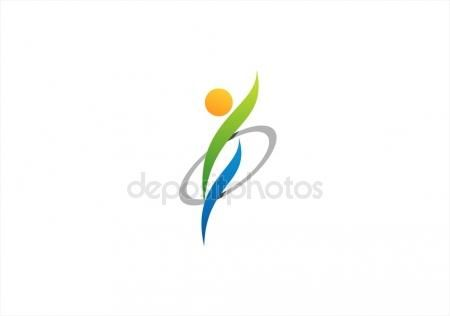 #wellness #logo #circle #health #people #symbol #icon #design #vector #graphic #sport #yoga #healthy #identity #illustration #lifestyle #person #personality #growth #abstract #ideas #concept #royalty  https://depositphotos.com/portfolio-3904401.html?ref=3904401