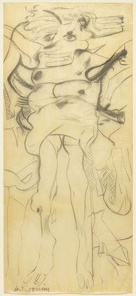 Willem de Kooning, drawing