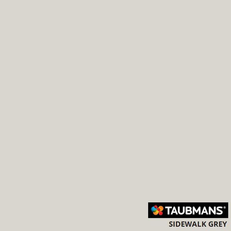 #Taubmans colour #sidewalk grey