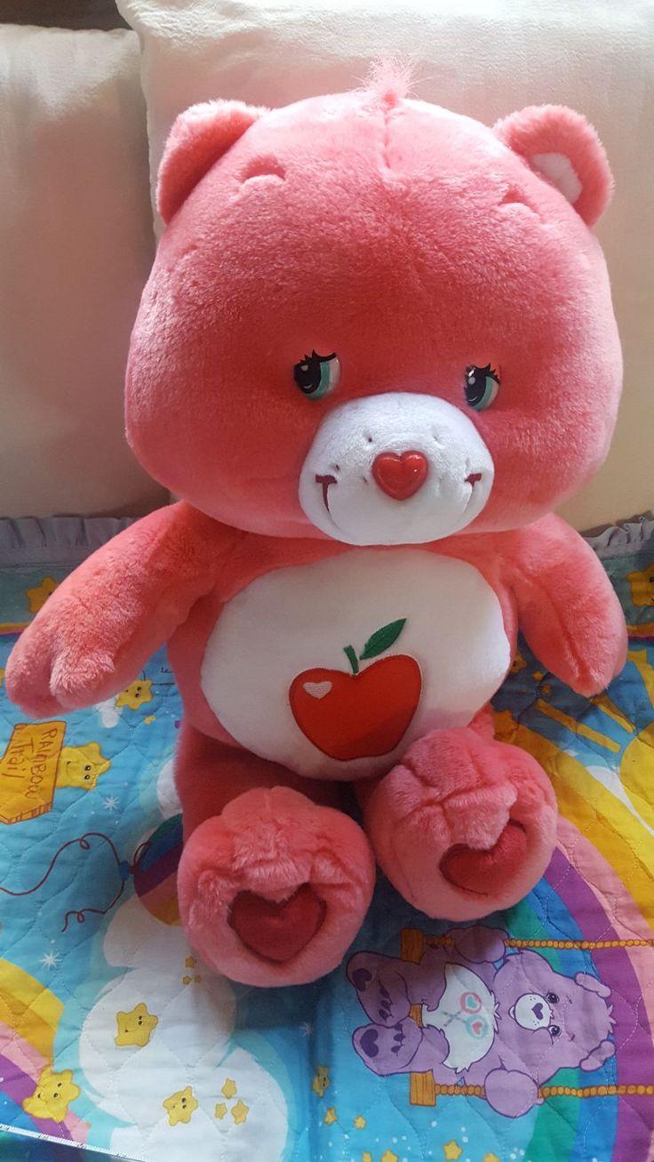 2005 giant care bears smart heart bear 28 plush stuffed