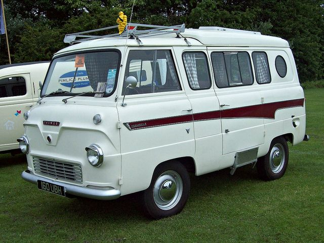 127 Ford Thames 400E Dormobile Camper (1961) by robertknight16, via Flickr