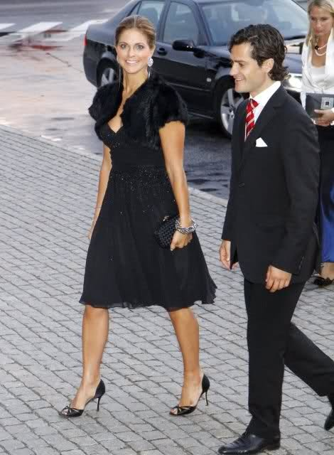 Prince Carl Philip & Princess Madeleine of Sweden
