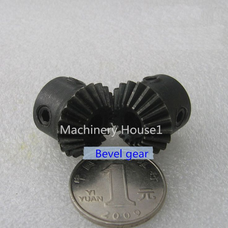 Bevel Gear a pair 20T Mod 1 M=1 ratio 1:1 Bore 6mm 8mm 45# steel right angle rectangle transmission parts motor accessories DIY