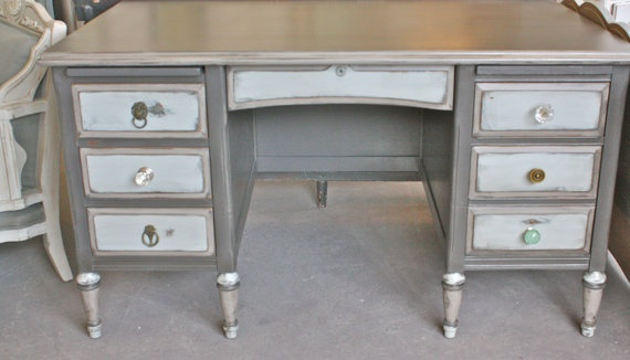 repainted desk inspiration, I'm planning on repainting a desk and using it as a tv stand