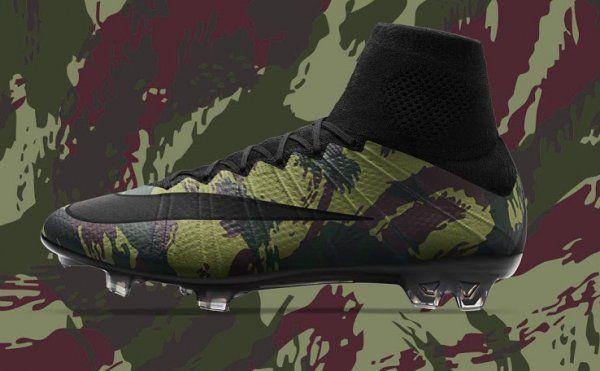Camo Pack | Nike lança linha de chuteiras camufladas - Guia do Boleiro