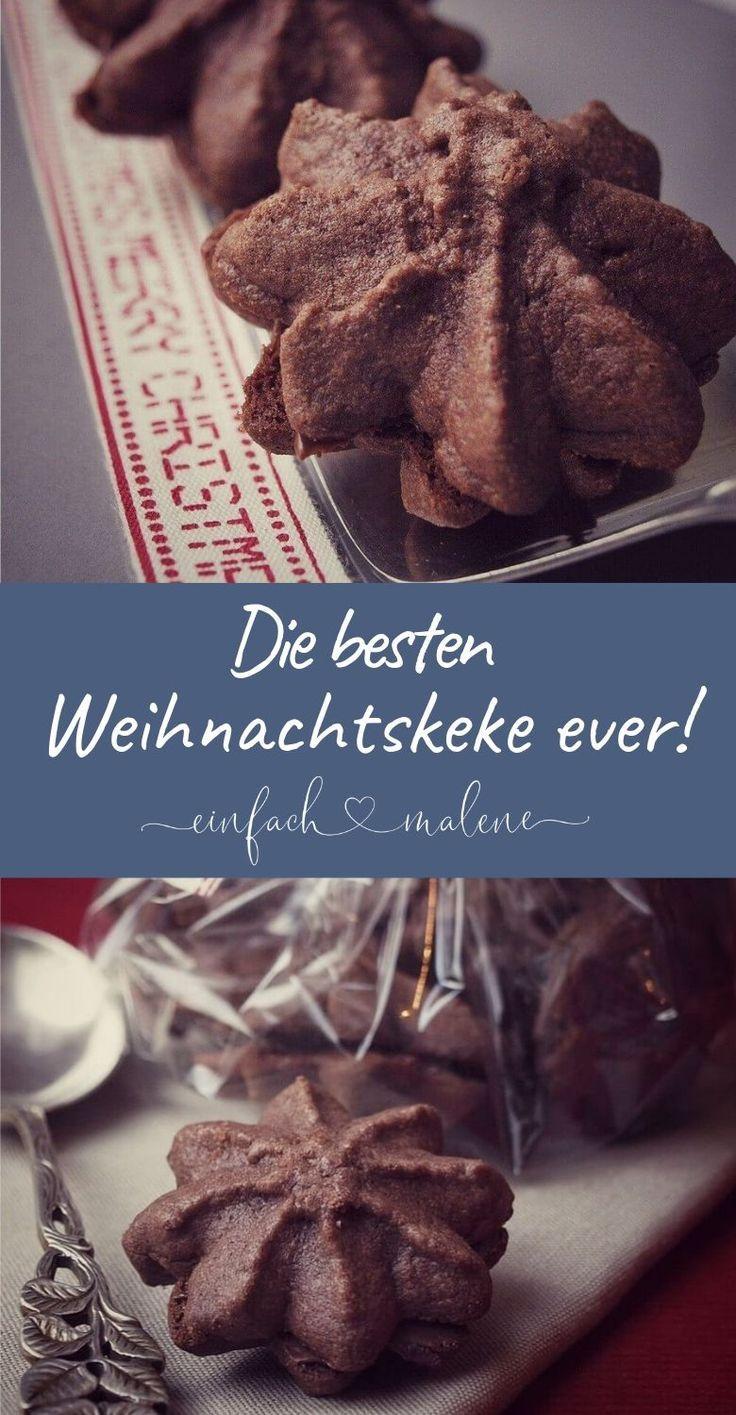 Nougat Tuffs – die besten Nutella Weihnachtskekse …