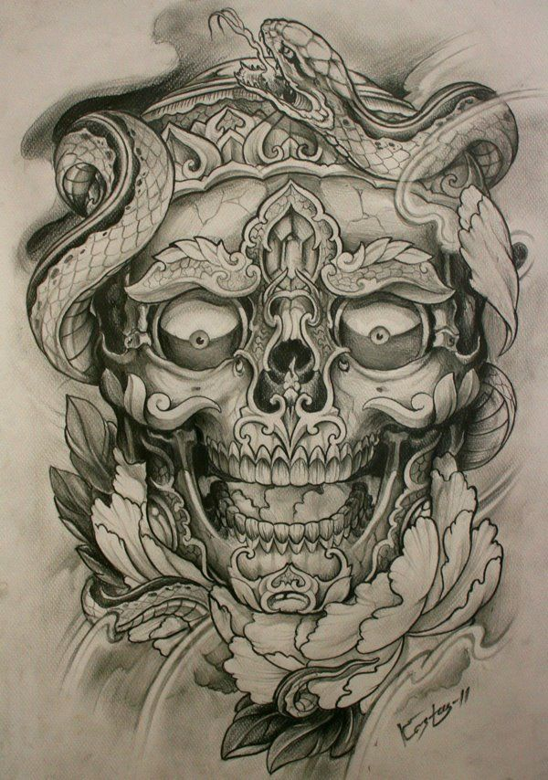 Kostas Artwork Dirtyroses Tattoo