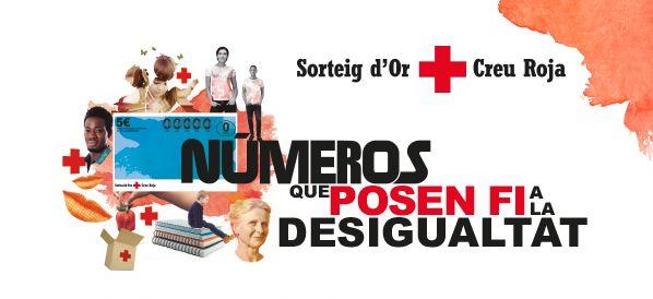 sorteo del oro Cruz Roja, números que acaban  con la desigualdad
