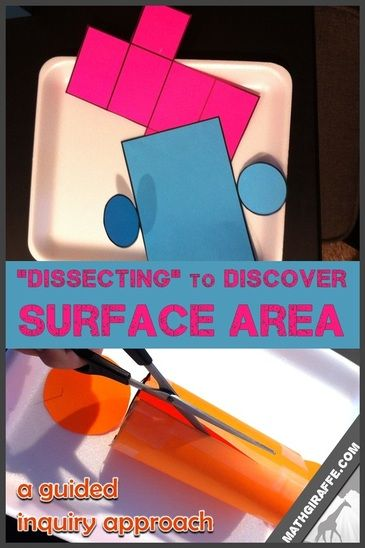 Teaching Surface Area of a Cylinder with a Hands-On Discovery Lesson Plan