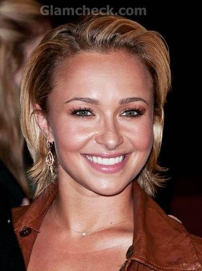 celebrity Slicked Back Hair trend