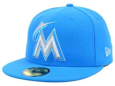 Miami Marlins MLB C-Dub 59FIFTY Cap Hats