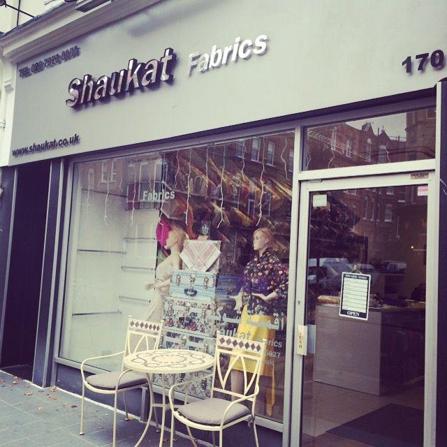 shaukat fabrics for liberty, kensington, london