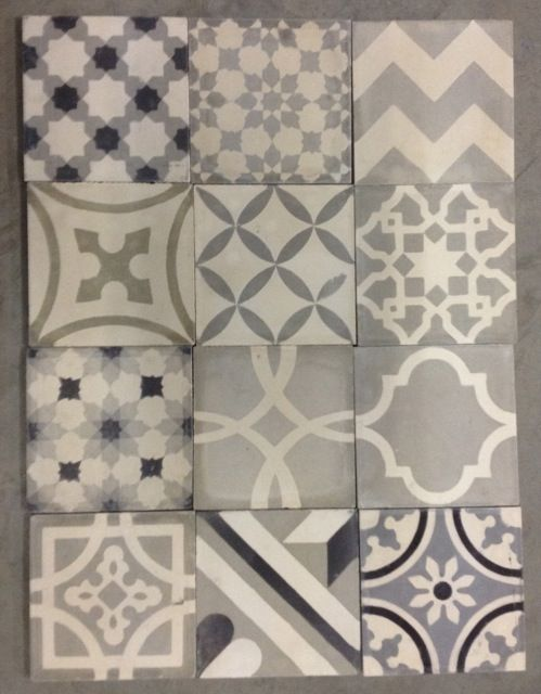 Moroccan cement-tiles