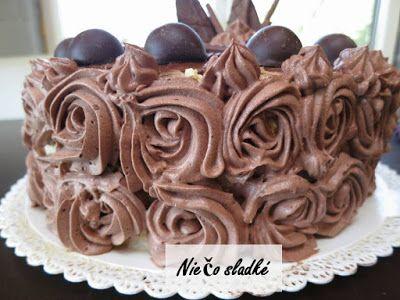 Niečo sladké: Vanilkovo-čokoládová torta