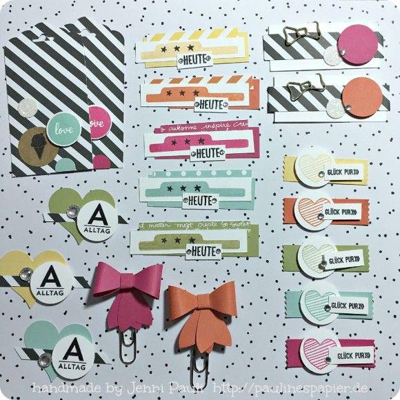 Planer-Filofax-Terminkalender  Goodies Jenni Pauli Stampin'Up!