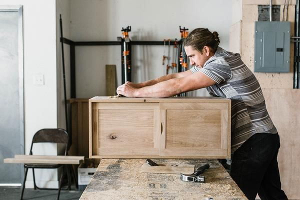 A case for quitting your day job with self-taught furniture maker, Brian Christopher