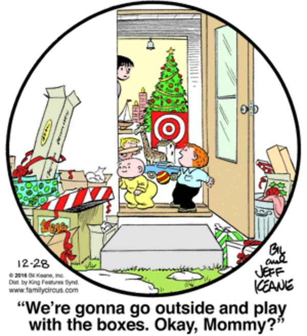 Family Circus for 12/28/2016