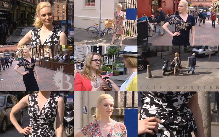 Saint Bustier featured on Irish television on TV3s Xpose show - click through to watch our big-busted fashion on the streets of Dublin!