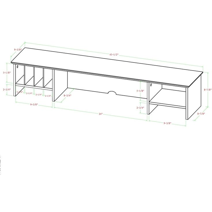 1000 Ideas About White Desk With Hutch On Pinterest