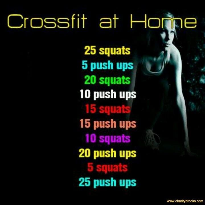 Get Cross Fit at Home!  #stayfit #pushplay  #crossfit