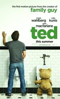 I remember hearing about Ted some time back and my first reaction was, this has to be a joke! But, then after hearing that Seth MacFarlane  was involved then my anticipation and excitement was starting to get fueled