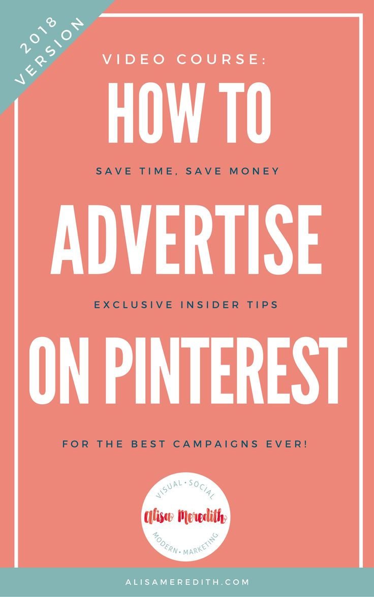 Want to start advertising on Pinterest but you're not sure where to start? Wonder what to promote, how much to spend, and what those analytics mean? Wish someone would just show you how to do it step-by-step? The Pinterest Promoted Pins 101 Course is what you've been waiting for!  via @alisammeredith