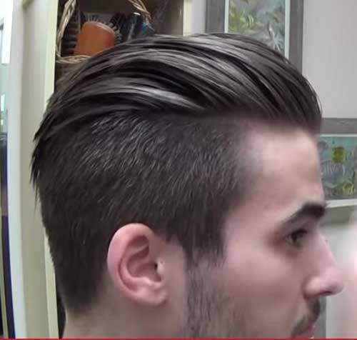14.Slick Back Hairstyle Men