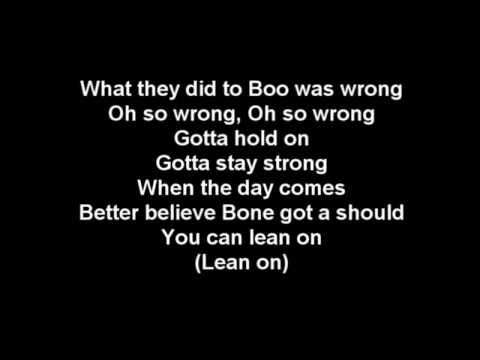 Bone Thugs N Harmony - Not My Baby (lyrics ... - MetroLyrics