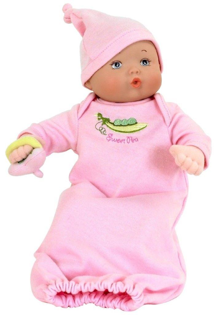 Alexander Dolls 12″ Sweet Pea Diaper Baby, Play Alexander Collection
