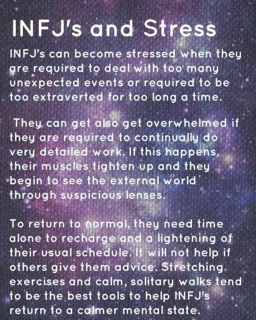 Infj and stress | no joke about the muscles tightening