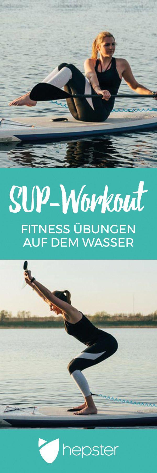 SUP-Workout – Training auf dem SUP für den ganzen Körper! Hier kommt ein Ganzk…