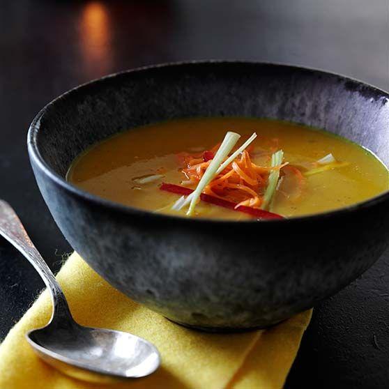 Græskarsuppe -http://www.dansukker.dk/dk/opskrifter/graeskarsuppe.aspx #dansukker #opskrift #suppe #græskar #spis #eat #lækkert #snack