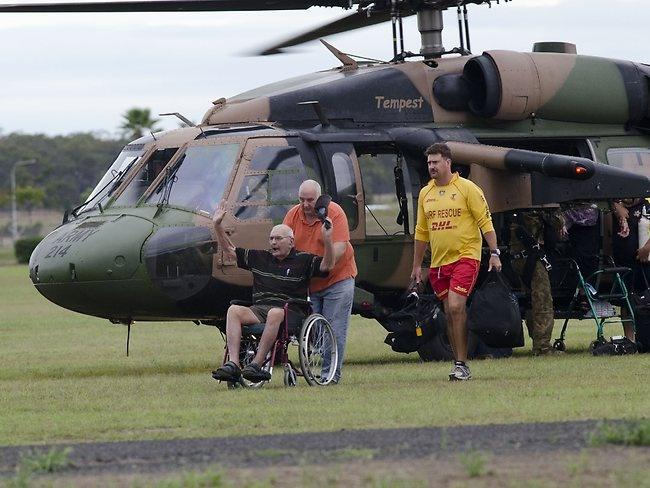 Bundaberg evacuees   Widebay Burnett, Bundaberg Floods & Tornadoes January 2013