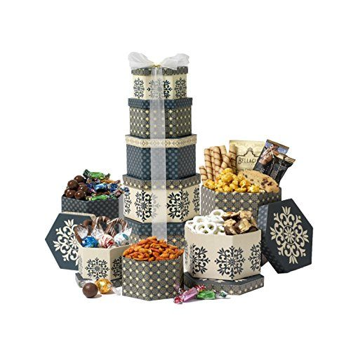 Broadway Basketeers Chocolate and Sweets Gift Tower ...