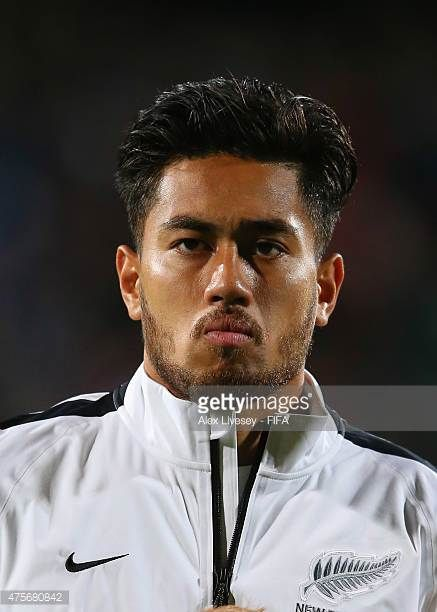 Bill Tuiloma of New Zealand lines up prior to the FIFA U20 World Cup Group A match between New Zealand and USA at the North Harbour Stadium on June 2...