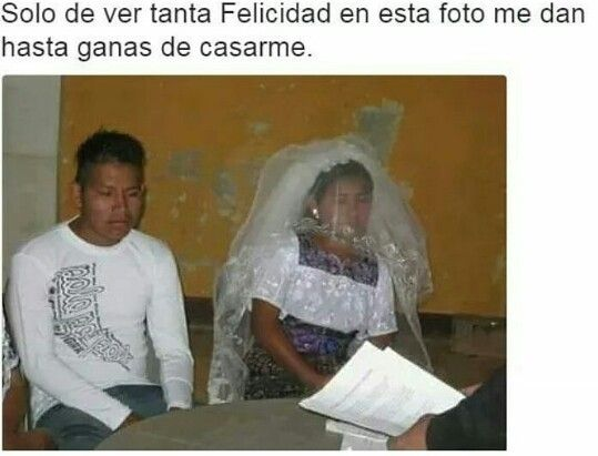 Se antoja casarse