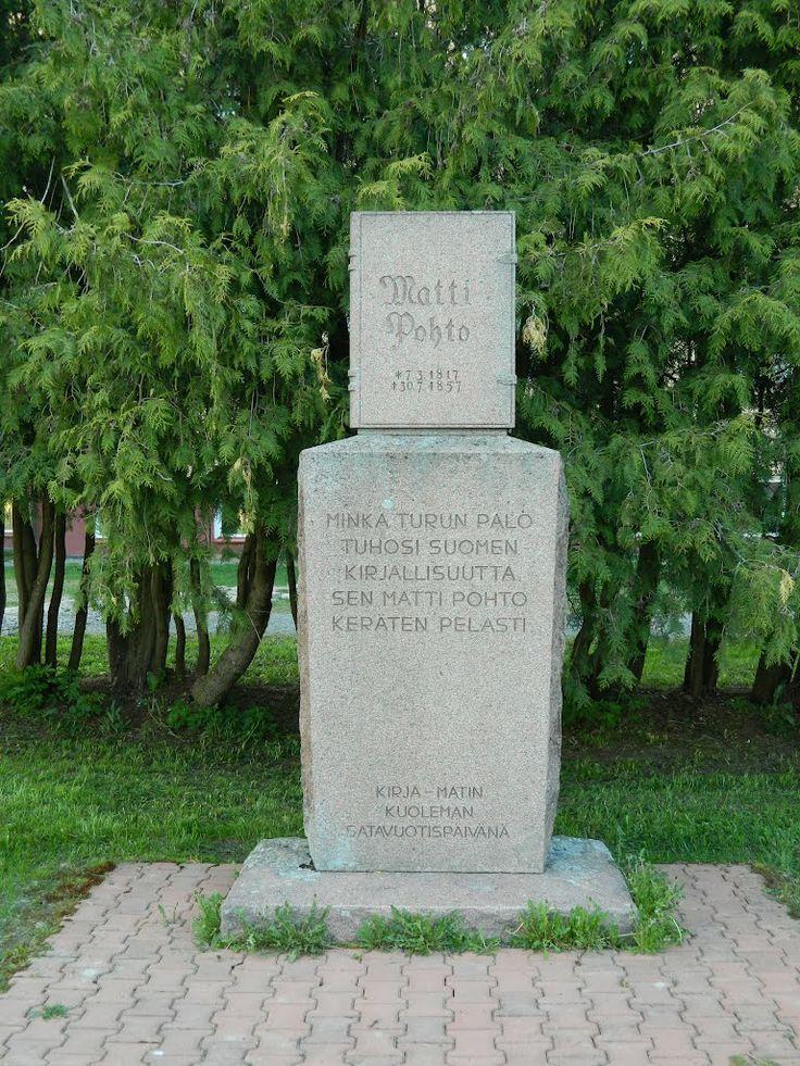 Matti Pohto memorial.