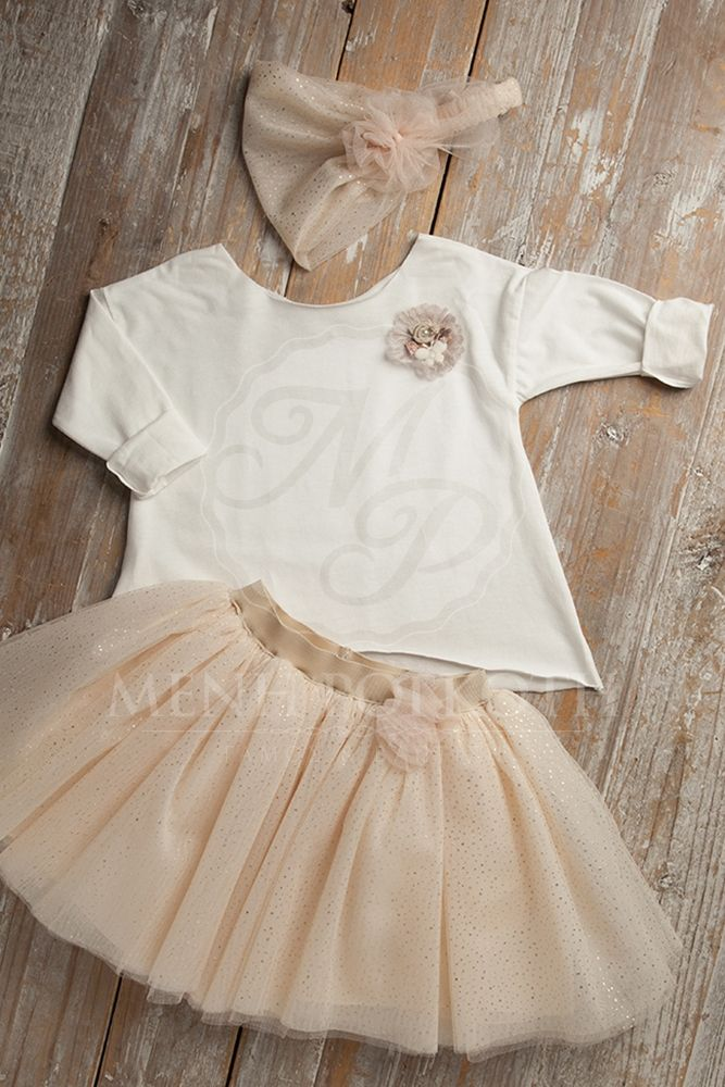 Βαπτιστικά ρούχα για κορίτσι της Vanessa Cardui
