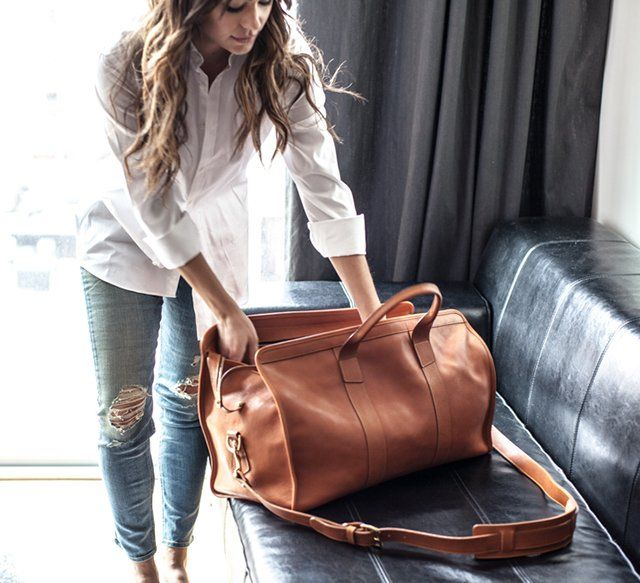Signature Travel Duffle by Frank Clegg.  Make it simple, make it perfect.