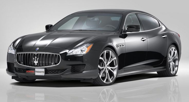 Novitec Powers Up New Maserati Quattroporte