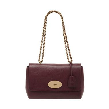 Mulberry - Medium Lily in Oxblood Natural Leather I need this in my life haha
