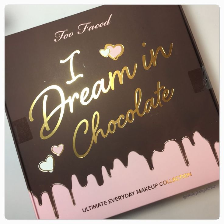 Too Faced I DREAM IN CHOCOLATE MAKEUP COLLECTION - LE - NIB - Sealed!  | eBay