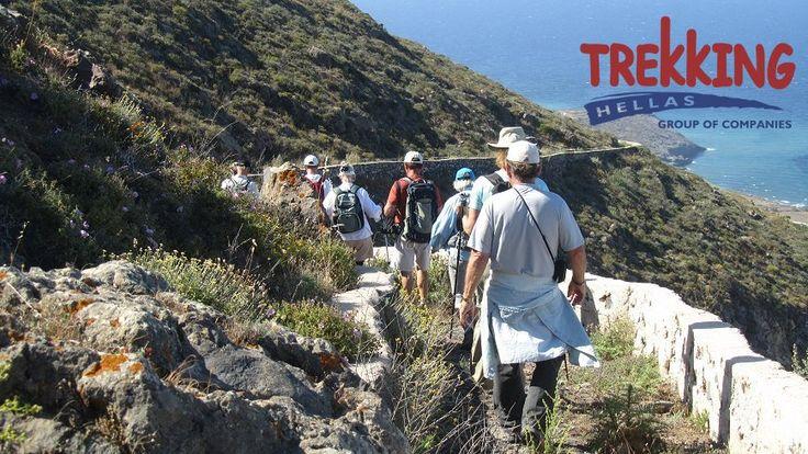 Trekking in Santorini