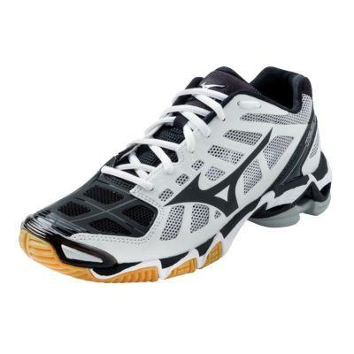 Mizuno Women's Wave Lightning RX2 Volleyball Shoes – White & Black « Clothing Impulse