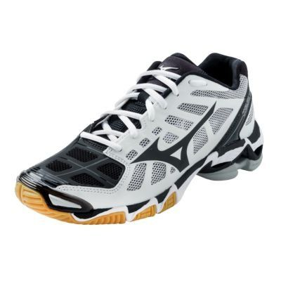 Mizuno Women's Wave Lightning RX2 Volleyball Shoes – White & Black « Clothing Impulse
