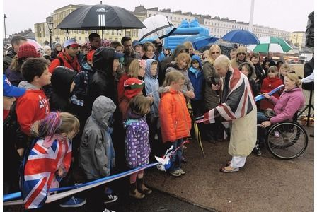 Thousands brave rain to celebrate reopening of Herne Bay Pier