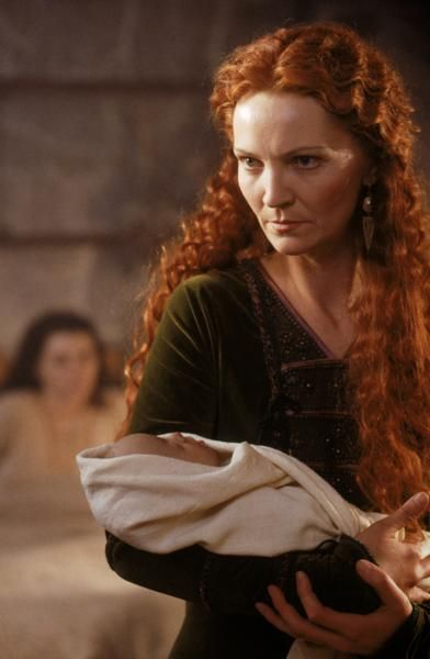 Morgause (Joan Allen) - the Mist of Avalon (2001) - The hand that rocks the cradle