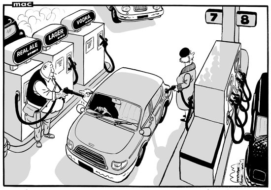 5 June 2013 - 'That's strange. I was told they were going to open a pub at this service station'.